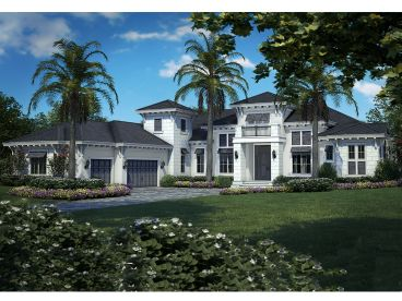 West Indies House Plan, 037H-0219