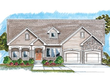 1-Story House Plan, 050H-0022