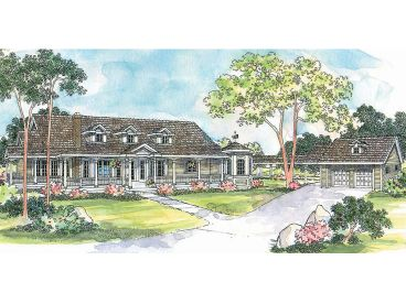 Country House Plan, 051H-0032