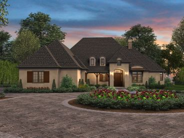 European House Plan, 034H-0303