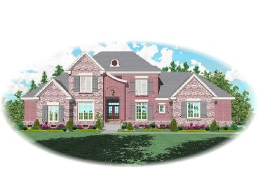 Luxury House Plan, 006H-0119