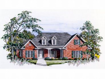 Traditional House Plan, 019H-0033