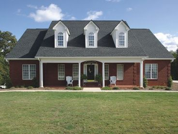 Ranch House Plan Photo, 007H-0049