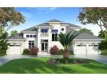 Florida Style House Plan, 069H-0029