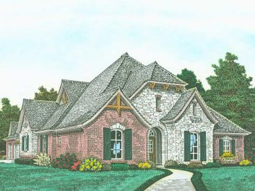 Ranch House Plan, 002H-0131