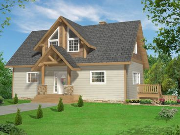Craftsman House Plan, 012H-0184