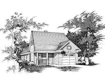 Small House Plan, 061H-0016