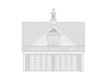 Carriage House with Pool Storage, 006G-0155