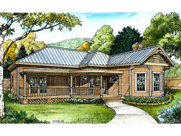 1-Story House Plan, 008H-0016