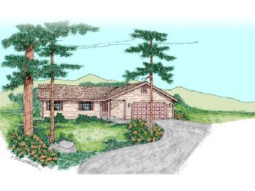 Small House Plan, 013H-0063