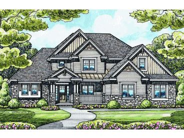 Two-Story Home Plan, 031H-0207