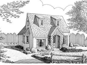 Love Shack House Plan, 054H-0068