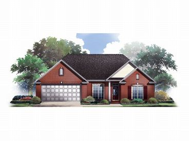 Traditional House Plan, 001H-0038