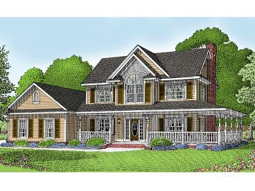 Two-Story House Plan, 044H-0008