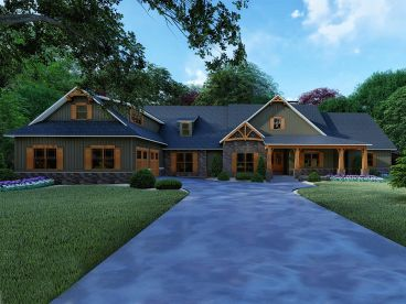 Premier Luxury House Plan, 074H-0094