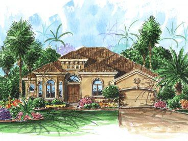 Mediterranean House Plans | The House Plan Shop