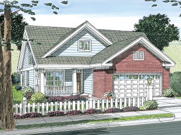 Affordable Home Plan, 059H-0120