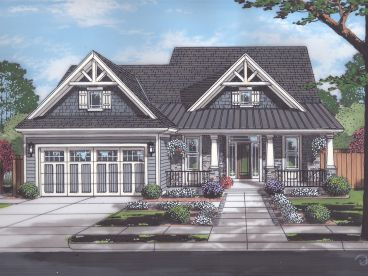 Craftsman House Plan, 046H-0177