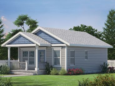 Tiny House Plan, 031H-0401