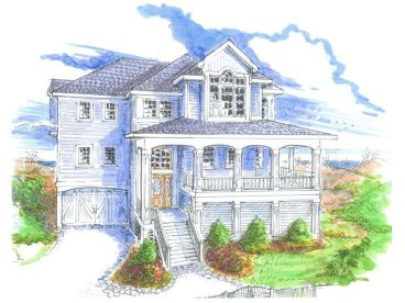 Coastal Home Plan, 041H-0017