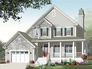 Farmhouse Plan, 027H-0265