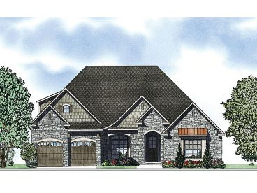 Ranch House Plan, 025H-0255