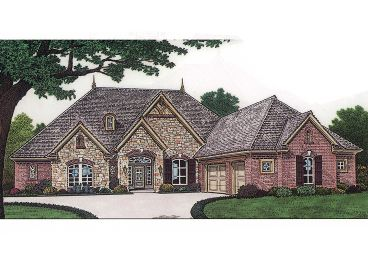 European House Plan, 002H-0051