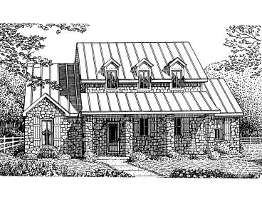 Country House Plan, 054H-0141