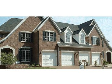 Duplex Home Plan Photo, 031M-0067