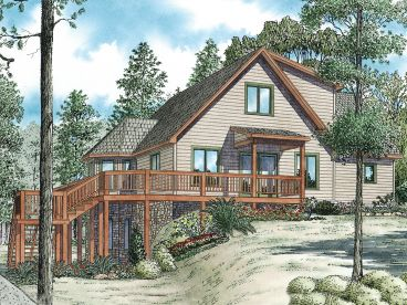 Mountain House Plan, 025H-0274