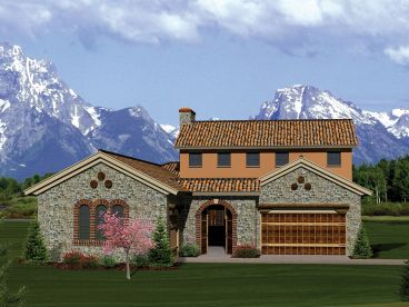 Ranch House Plan, 020H-0279
