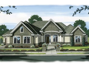 Empty Nester Home Plan, 050H-0034