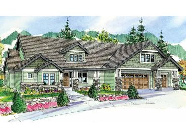 Craftsman House Plan, 051H-0165