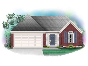Affordable Home Plan, 006H-0033