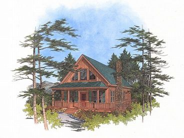 Narrow Lot House Plan, 007H-0026