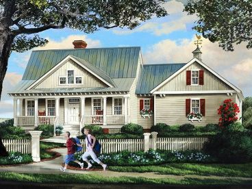 Country House Plan, 063H-0147