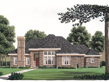Ranch House Plan, 054H-0126