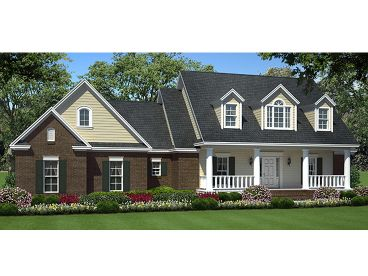 Southern Country Home, 001H-0126