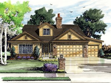 Traditional House Plan, 066H-0032