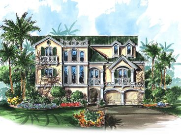 Luxury House Design, 037H-0126