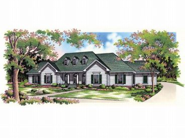 Country House Plan, 021H-0150