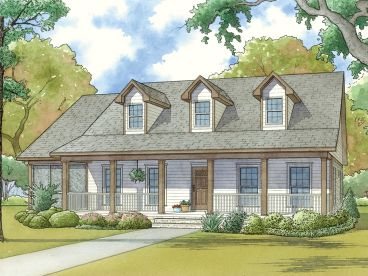 Country House Plan, 074H-0048