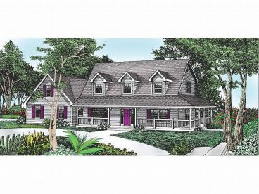 Farmhouse Plan, 026H-0089