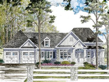 Ranch House Plan, 014H-0099