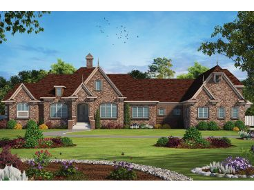European House Plan, 031H-0375