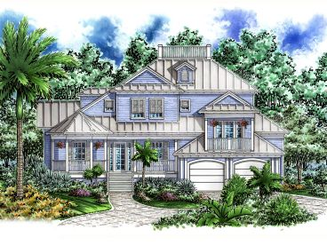 Cracker House Plan, 037H-0115