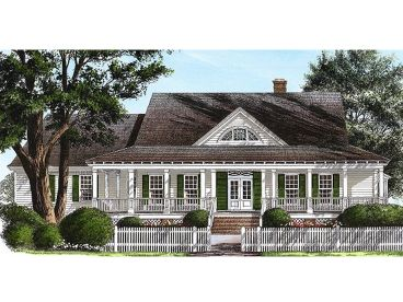 Country House Plan, 063H-0134