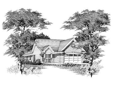 Small Ranch Home, 061H-0006
