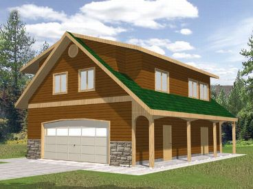 Carriage House Plan, 012G-0024