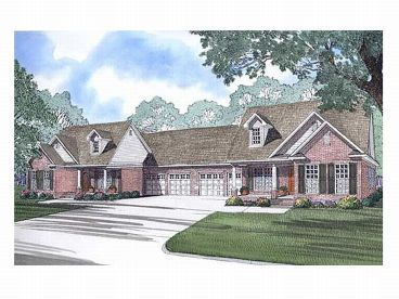 Multi-Family House Plan, 025M-0008
